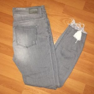NEW STYLE this winter Express mid rise grey jeans